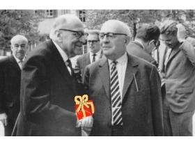 Horkheimer freut sich über Adornos Geschenk